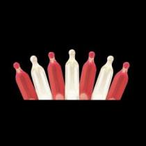 Martha Stewart Living 50-Light LED M5 Red/White Light Set-TY822-1415 204918246