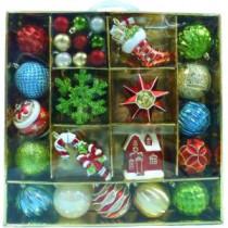 Martha Stewart Living Alpine Holiday Ornament (51-Count)-C-15836 206954443