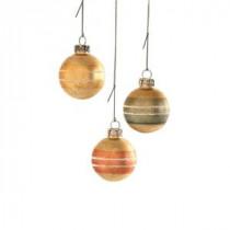 Martha Stewart Living Glass Ball Mini Ornament (Set of 12)-9784400730 300259601