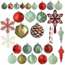 Martha Stewart Living Winter Tidings Shatter-Resistant Ornament (100-Count)-HE-1127 206953582