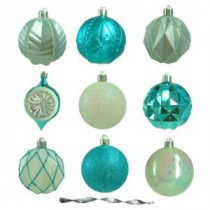 Martha Stewart Living Winter Wishes Shatter-Resistant Assorted Ornament (75-Count)-HE-1196 207044925