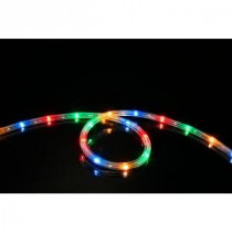Meilo 16 ft. Multi-Color LED Rope Light (2-Pack)-ML12-MRL16-ML-2PK 206792213