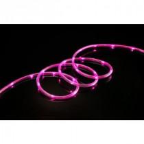 Meilo 80-Light 16 ft. LED Pink Mini Rope Light TRUE-Tech 360° Directional Shine-ML11-MRL16-PN 300383784