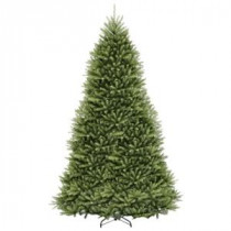 National Tree Company 12 ft. Dunhill Fir Hinged Artificial Christmas Tree-DUH-120 207183145