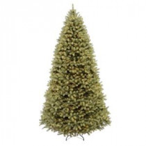 National Tree Company 12 ft. Pre-Lit Downswept Douglas Fir Artificial Christmas Tree with Clear Lights-PEDD1-312-120 202874646