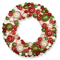 National Tree Company 20 in. Ornament Artificial Wreath-RAC-ZX4861 300154679