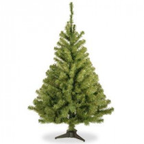 National Tree Company 4 ft. Kincaid Spruce Artificial Christmas Tree-KCDR-40 207183176