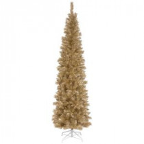 National Tree Company 6 ft. Champagne Tinsel Artificial Christmas Tree-TT33-702-60 300487954