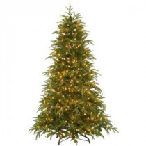 National Tree Company 6.5 ft. Feel-Real North Frasier Artificial Christmas Tree with Lights-PENO4-300EP-65X 205983413