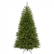 National Tree Company 7-1/2 ft. North Valley Spruce Hinged Artificial Christmas Tree-NRV7-500-75 207183206