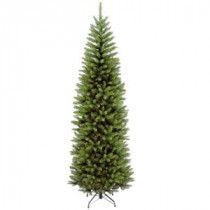 National Tree Company 7 ft. Kingswood Fir Pencil Hinged Artificial Christmas Tree-KW7-500-70 207183190