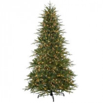 National Tree Company 7.5 ft. Power Connect Northern Frasier Artificial Christmas Tree with Clear Lights-PENO4-310EP-75X 205983437