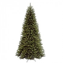 National Tree Company 9 ft. North Valley Spruce Hinged Artificial Christmas Tree-NRV7-500-90 207183207