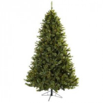 Nearly Natural 7.5 ft. Majestic Multi-Pine Artificial Christmas Tree with 650 Clear Lights-5375 204688165