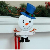 Original MantleClip Dad Stocking Holder with Snowman Family Icon-BSF0104 206998278