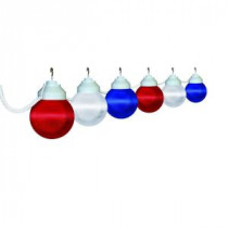 Polymer Products 6-Light Outdoor Patriotic String Light Set-1699-00705-PRE 205155087