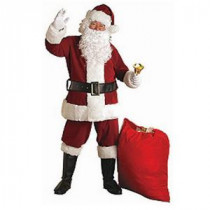 Rubie's Costumes Adult XX-Large Crimson Regal Plush Santa Suit Costume-23372 204424110