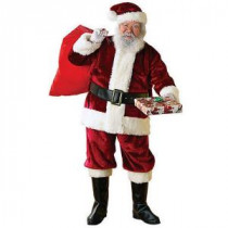 Rubie's Costumes Extra Large Crimson Regency Santa Suit Costume-23351XL 205737031