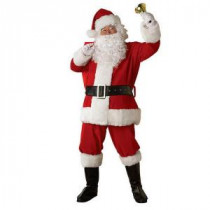 Rubie's Costumes X-Large Regal Regency Plush Santa Suit Costume for Adult-23331 204427461