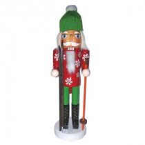Santa's Workshop 14 in. Ski Bum Nutcracker with Skis-70918 207146894