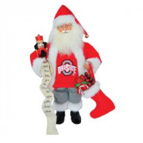 Santa's Workshop 15 in. Ohio State Santa With Nutcracker-OHB080 207149247
