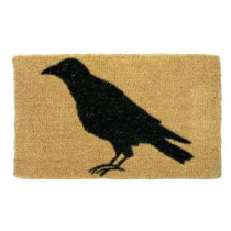 TAG Black Crow 18 in. x 30 in. Coir Mat-TAG73012 300225477
