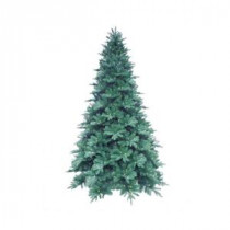 12 ft. Blue Noble Spruce Artificial Christmas Tree with 1260 Clear LED Lights-7208008-51 203367700