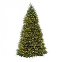 12 ft. Dunhill Fir Artificial Christmas Tree with 1500 Clear Lights-DUH3-120LO-S 204145859