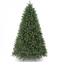 12 ft. Feel-Real Downswept Douglas Fir Artificial Christmas Tree with 1200 Multi-Color Lights-PEDD4-325-120 205983490