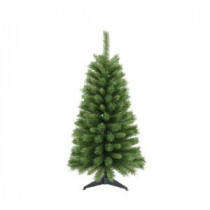 4 ft. Canadian Pine Artificial Christmas Tree with Base-15932 207146551