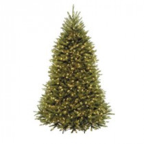 7.5 ft. Dunhill Fir Artificial Christmas Tree with 750 Clear Lights-DUH3-75LO 204145866