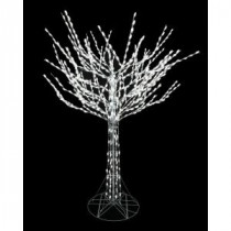 8 ft. Bare Branch Tree in White-4407463W-18UHO 206963325