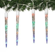 8-Light Color Changing LED Icicle Light String-2212090 206644020