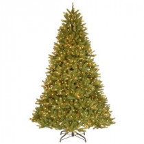 9 ft. FEEL-REAL Grande Fir Artificial Christmas Tree with 900 Clear Lights-PEGF4-332E-90X 205147031