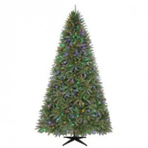 9 ft. Matthew Fir Quick-Set Artificial Christmas Tree with 700 Color Choice LED Lights and Remote Control-TG90M2V39D00 205152709