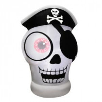 Airflowz 5 ft. Inflatable 1-Eyed Pirate Skull-54710 206852821
