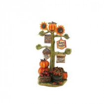 Alpine 10 in. Harvest Decor with Signs Statuary-AJY166 206212921