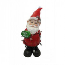 Alpine 12 in. Gnome Status with Color Changing LED Lights-ZEN206S 207140372