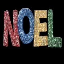 Brite Star 15.5 in. 150-Light Spun Glitter Noel Silhouette-48-234-00 203538932