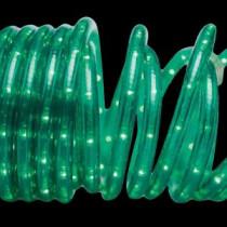 Brite Star 18 ft. 50-Light Green Rope Light-37-164-00 203541065