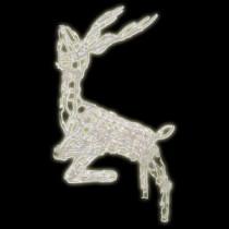 Brite Star 48 in. 105-Light Multi Posing Deer Sculpture-48-030-00 203541870