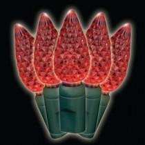 Brite Star C6 35-Light LED Red Lights (Box of 2)-37-947-20 202207889