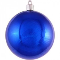 Christmas by Krebs 120 mm Azure Blue Shatterproof Ball (Pack of 36)-CBK50594 206214936