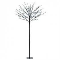 Eglo 59 in. Black LED Tree Post Light-75031A 204739993
