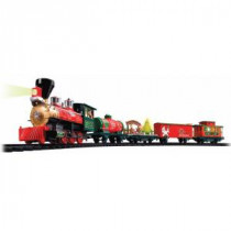 EZTEC Battery Operated Wireless Remote Control North Pole Express Christmas Train Set-37297 205951204