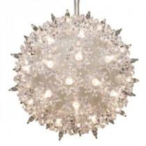 GE 6 in. 50-Light Clear Light Super Sphere (4-Pack)-75946HD 206768329