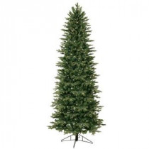 GE 7.5 ft. Indoor Pre-Lit Just Cut Aspen Fir Artificial Christmas Tree with Clear ConstantON Lights and 1-Plug-01591HD 206768367