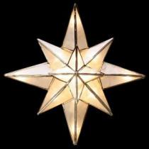 GE Clear Capiz Bethlehem Star Tree Topper-71401HD 205147048