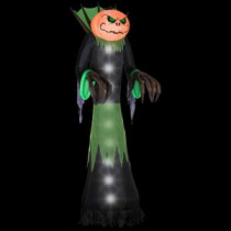 Gemmy 14 ft. Airblown Halloween Pumpkin Head Reaper-64669X 204475340