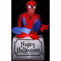 Gemmy 3.5 ft. Inflatable Halloween Spider-Man-55506X 206355145